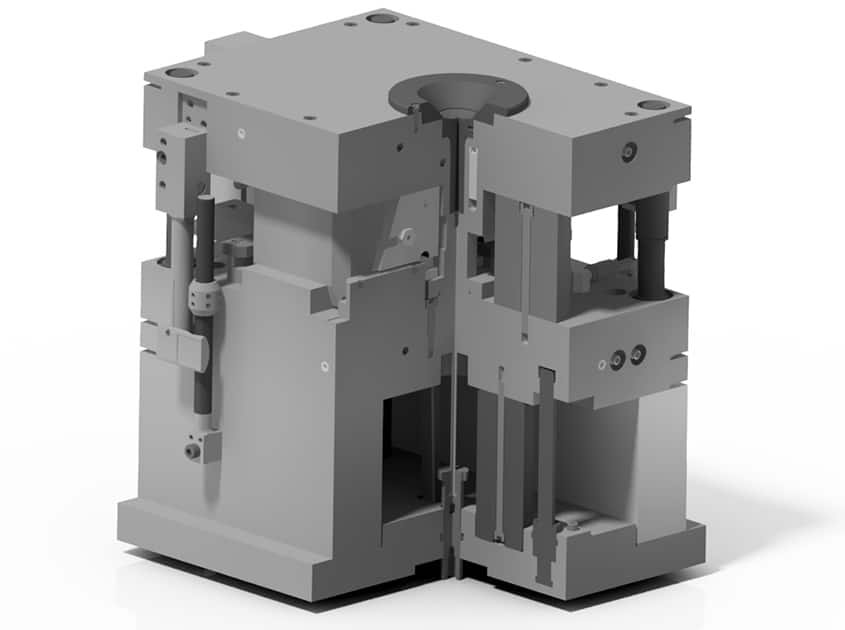 OptiCAMMS Formenbau GmbH Geräteteil aus dem Werkzeugbau
